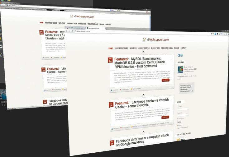 Mozilla Firefox 3.6.17 vs Google Chrome 11