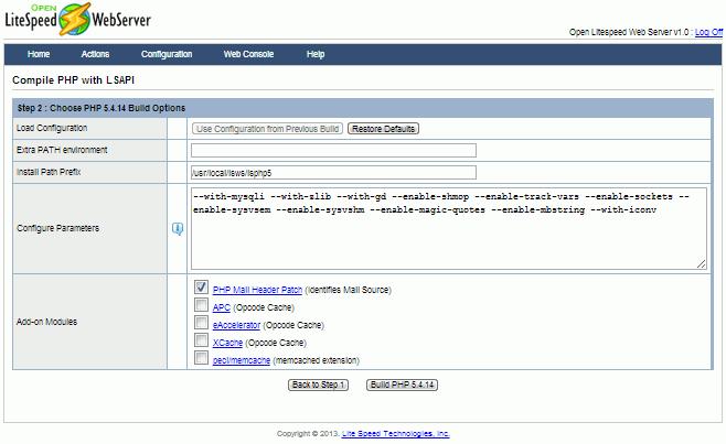 Percona XtraBackup 2.4.1 GA Is Now Available 2020 openlitespeed_admin_03